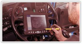 Диагностика грузовых автомобилей, автобусов и спецтехники на выезде