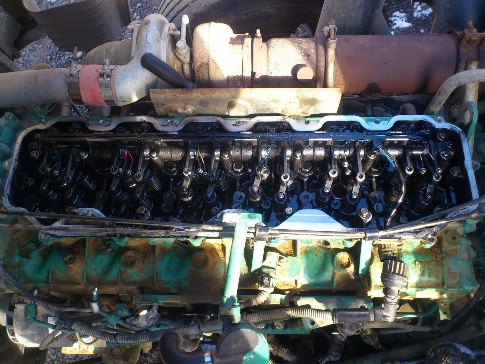 Диагностика грузовика Volvo FE на выезде.