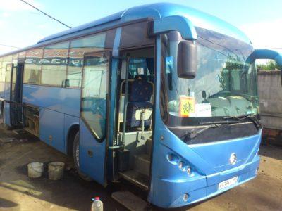 Диагностика китайского автобуса