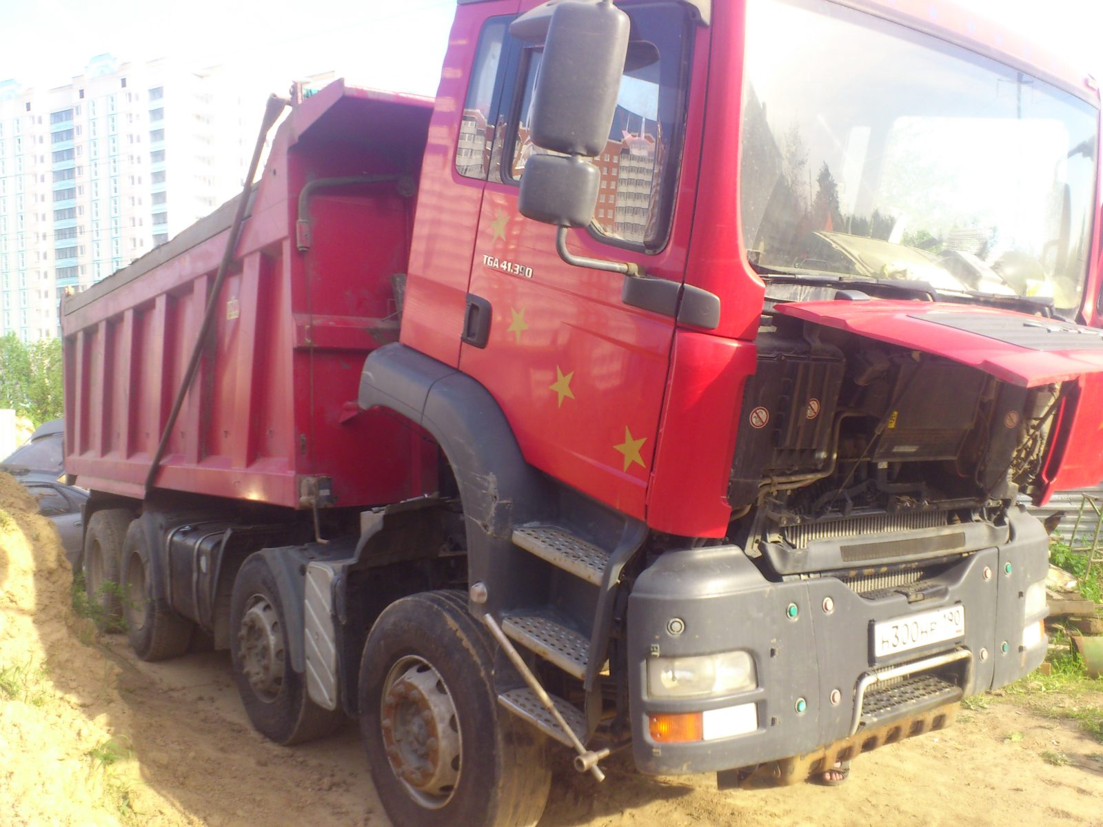 Диагностика грузового автомобиля на выезде