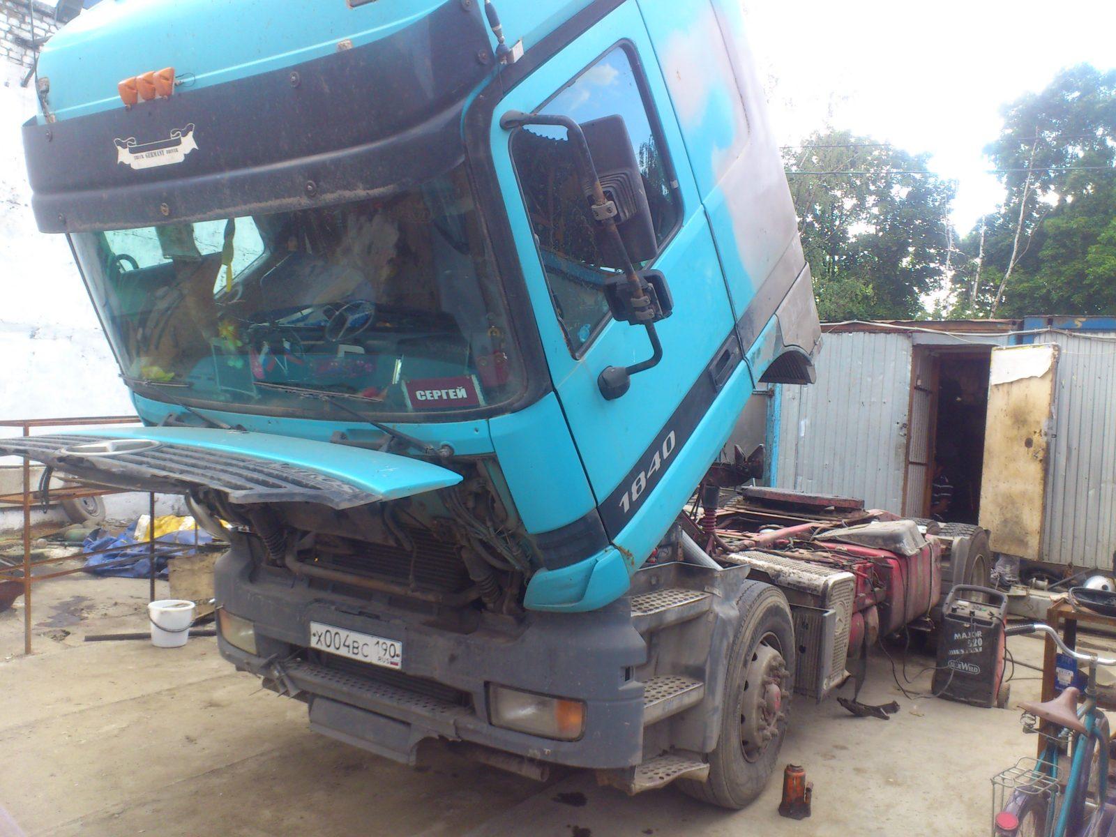 Диагностика Scania P400 на выезде