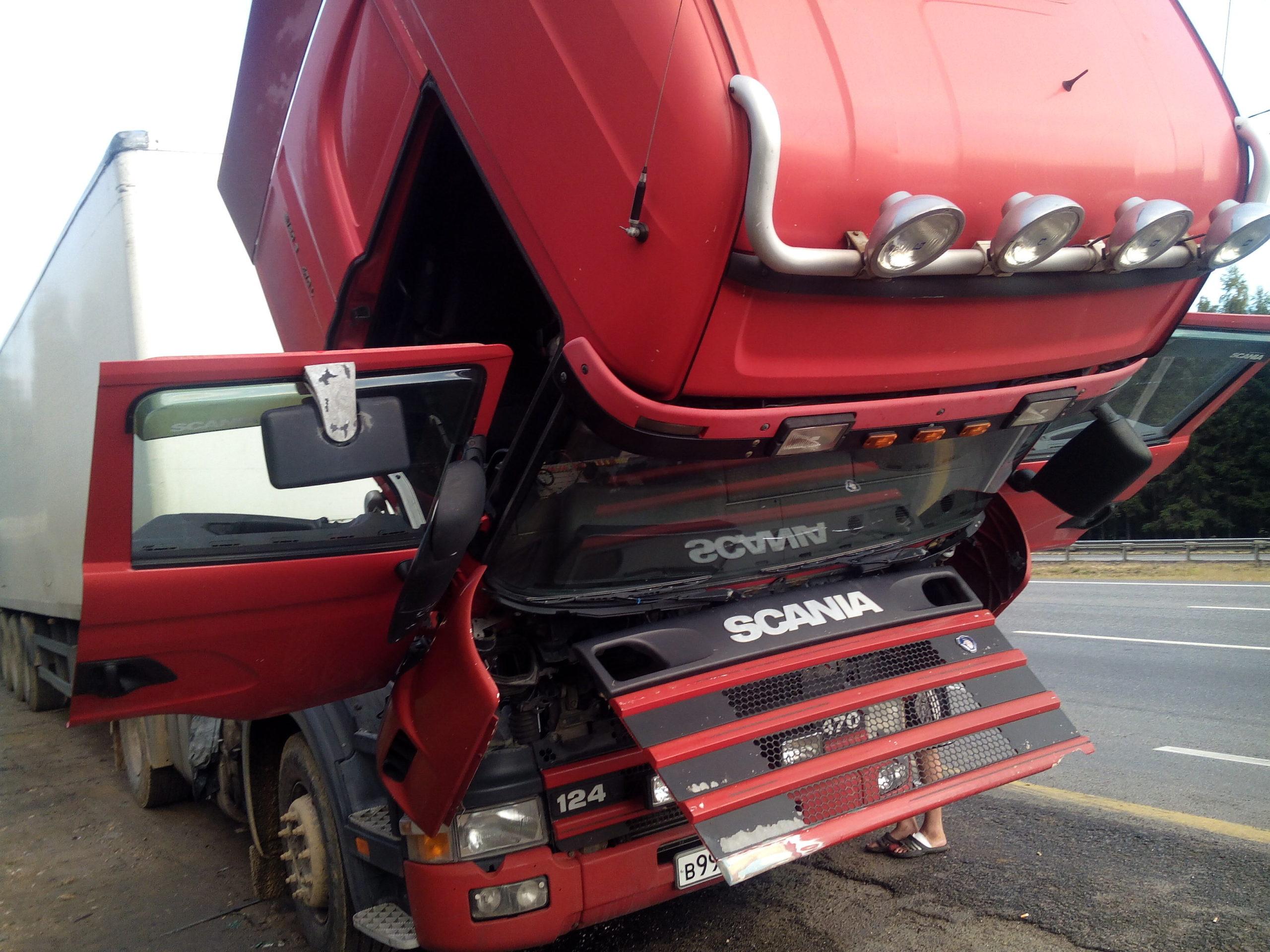 Диагностика Scania на выезде