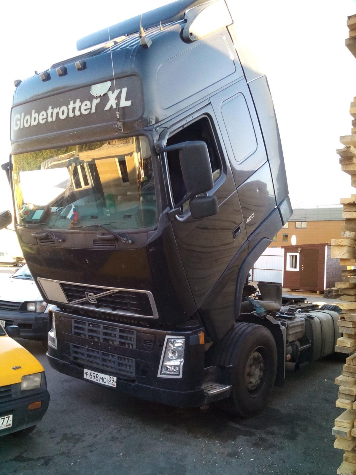 Диагностика Volvo FH 12 на выезде