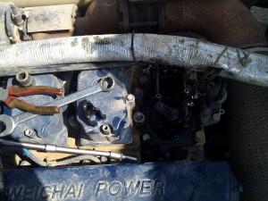 Shacman euro 4 ремонт топливной системы на выезде