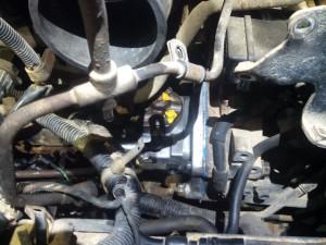 Установка насоса высокого давления после ремонта